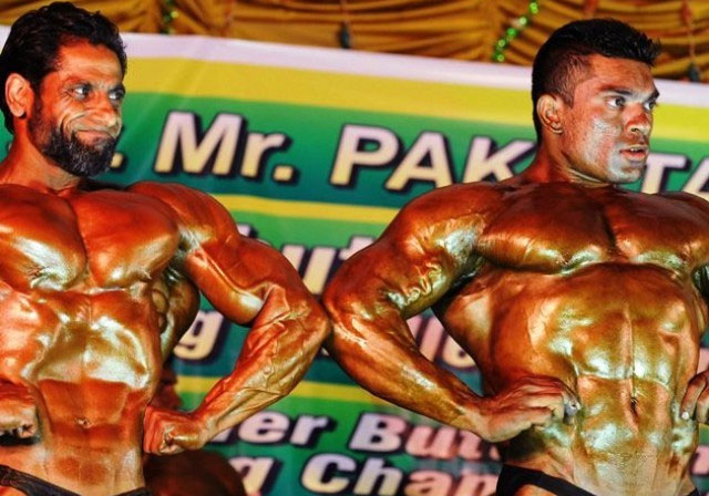 South asian bodybuilding