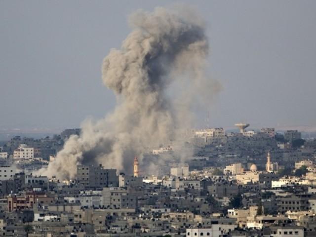 اسرائیل نے غزہ میں خون کی ندیاں بہا دیں، فضائی کارروائی میں 50 سے زائد افراد شہید