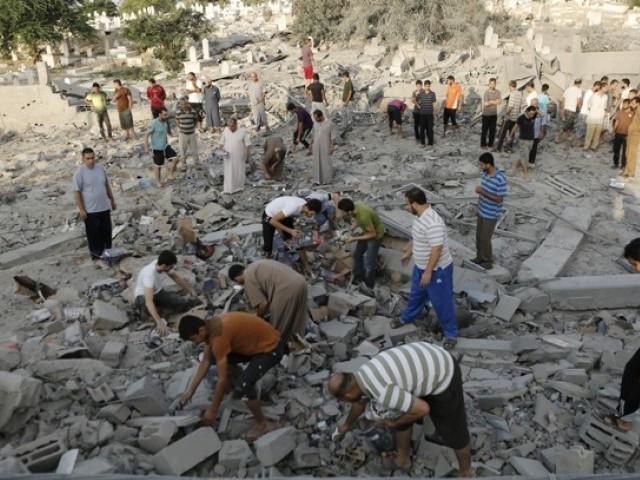 غزہ میں صیہونی بربریت کی انتہا، شہادتوں کی تعداد 800 سے تجاوز کر گئی