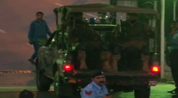 Army deployed in Islamabad's Red Zone