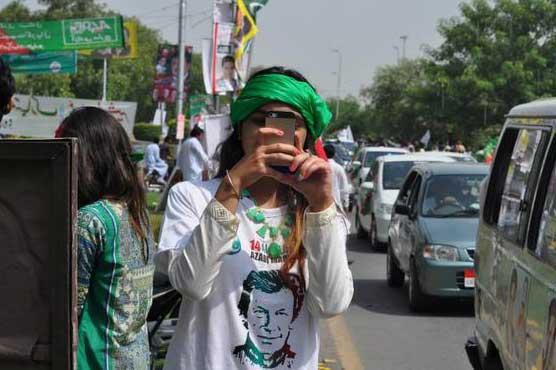 'Azadi March' through the eyes of social media