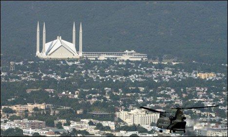 اسلام آباد میں 3دہشت گردوں کی موجودگی کی اطلاع