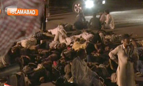 تحریک انصاف کےبیشتر رہنما کارکنان کو چھوڑ کر چلے گئے