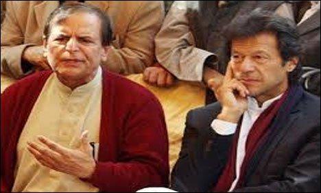جاوید ہاشمی اپنی جدوجہد کو نقصان پہنچا رہے ہیں،عمران خان