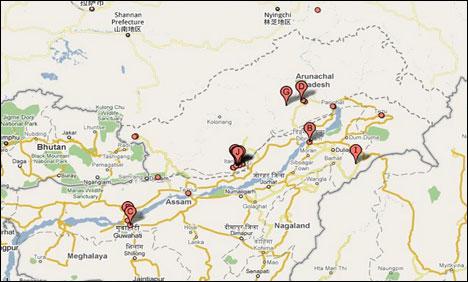 حساس،فوجی تنصیبات کے نقشے ظاہرکرنے پربھارت گوگل سے ناراض