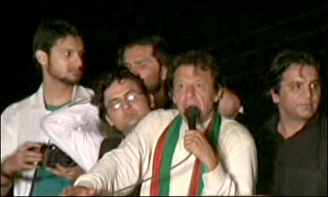 عمران خان نیندسےاُٹھ کربنی گالہ روانہ