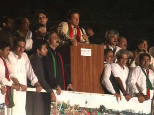 عمران خان نے کل ریڈ زون میں داخلے کا اعلان کردیا