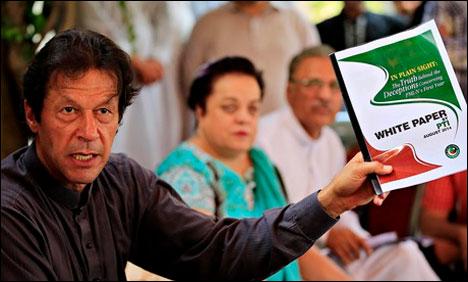 عمران خان کےرویےسے تجزیہ کار،سفارتکار حیران، برطانوی اخبار