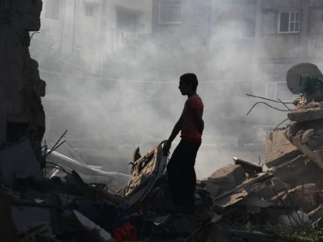 غزہ میں اسرائیلی سفاکیت جاری، بمباری سے حماس کے 3 رہنماؤں سمیت 8 فلسطینی شہید