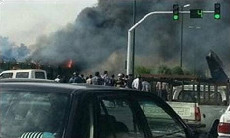 مسافر بردار طیارہ گر کر تباہ ، 48 افراد ہلاک