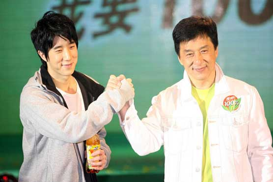 معروف اداکار جیکی چن کا بیٹا منشیات کے کیس میں گرفتار