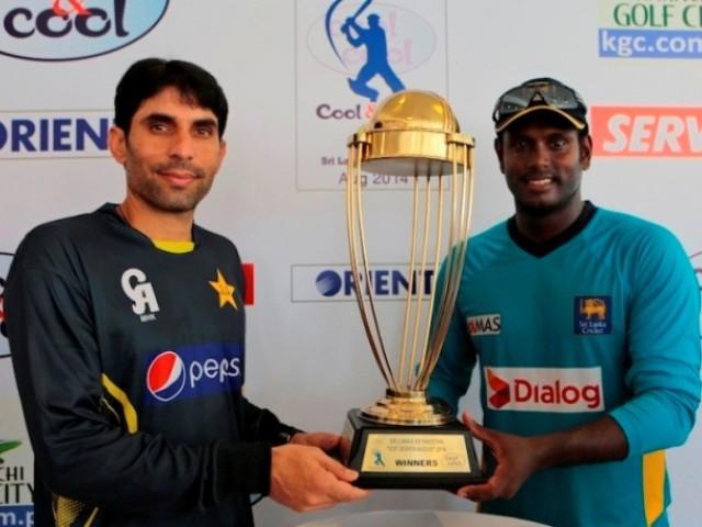 پاکستان اور سری لنکا کے درمیان پہلے ٹیسٹ میچ کا آغاز کل سے ہوگا