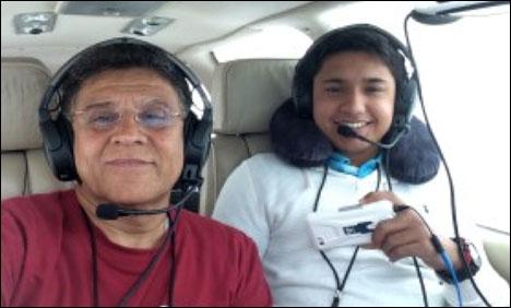 پاکستانی نژاد پائلٹ حارث سلیمان کو بعد از مرگ ستارہ امتیاز دینے کا فیصلہ