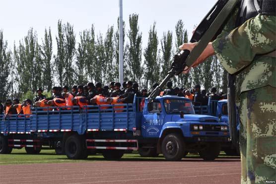 چینی صوبے سنکیانگ میں 800 سے زائد افراد گرفتار ، زیادہ تر مسلمان ہیں