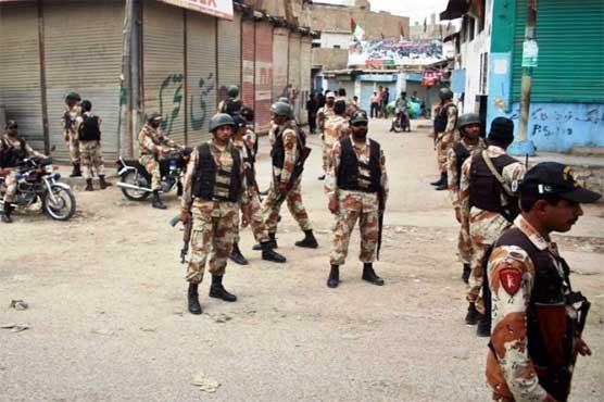 کراچی آپریشن کے دوران گیارہ ماہ میں 145 اہلکاروں سمیت 1805 افراد قتل ہوئے