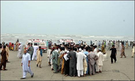 کراچی کا خو نی ساحل