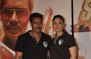 کرینہ کپور اور اجے دیوگن کی جوڑی تہلکہ مچانے آگئی