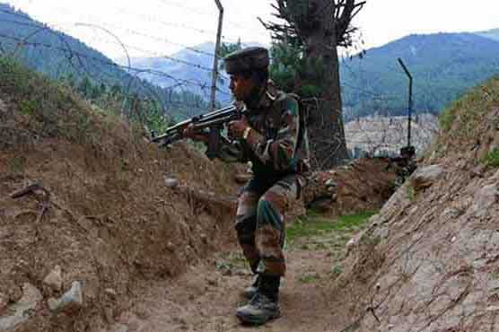 Indian army opens unprovoked fire at Charar sector