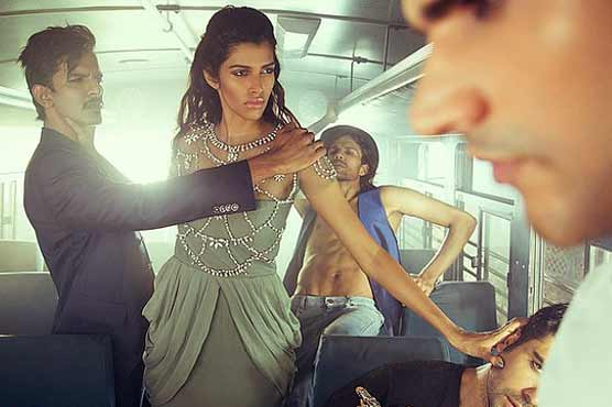 Indian photoshoot echoing gang-rape sparks outrage