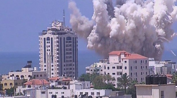 Israel pounds Gaza as Palestinians urge resumption of truce talks