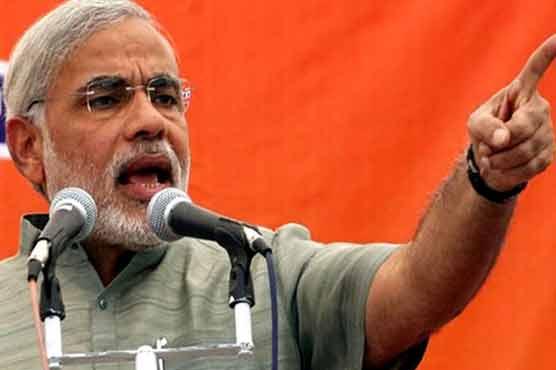 Narendra Modi accuses Pakistan of waging proxy war in Kashmir