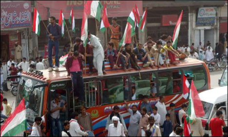 PAT Inquilab March reaches Sohawa