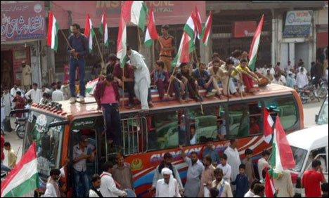 PAT Inquilab March reaches Sohawa
