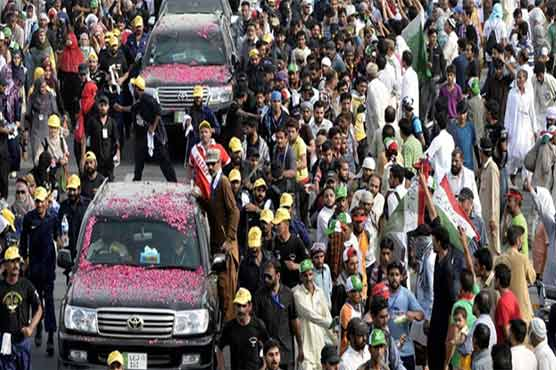 PAT's 'Revolution March' enters Islamabad