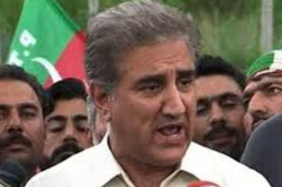 PTI MNAs have submitted resignations, says Qureshi