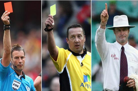 Should cricket introduce red and yellow cards