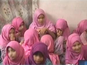 کراچی سے بازیاب کرائی گئی 36 کمسن بچیوں