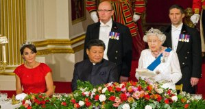 Chinese President visits Buckingham Palace in London