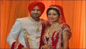بھارتی اسپنر ہربھجن سنگھ ، بالی ووڈ اداکارہ گیتا بسرا کے ہمسفر بن گئے