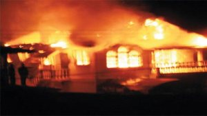 خالی پلاٹ میں آتشزدگی کے باعث تین بچے جھلس کر جاں بحق