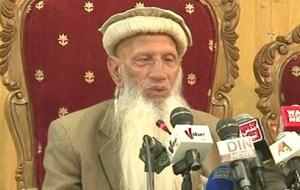 وبہ ہزارہ تحریک کے قائد بابا حیدر زمان نے کالا ڈیم کی حمایت کردی