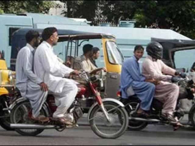 کراچی میں آج رات سے 10 محرم الحرام تک ڈبل سواری پرپابندی عائد، نوٹی فکیشن جاری