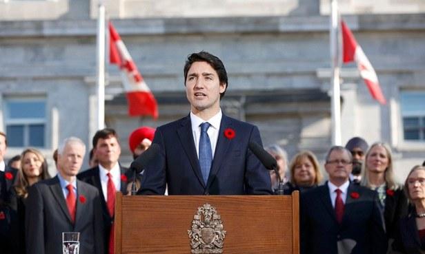 Canada PM Trudeau sworn in, reveals diverse, gender-equal Cabinet