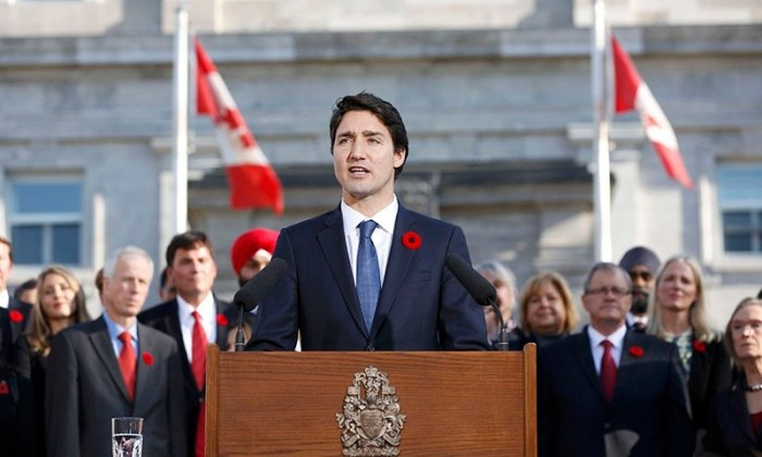 Canada PM Trudeau sworn in, reveals diverse, gender-equal Cabinet