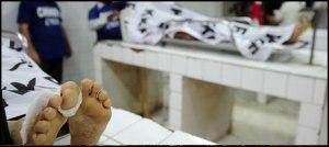 ایدھی ولیج کے قریب کنویں سے چارافراد کی لاشیں برآمد