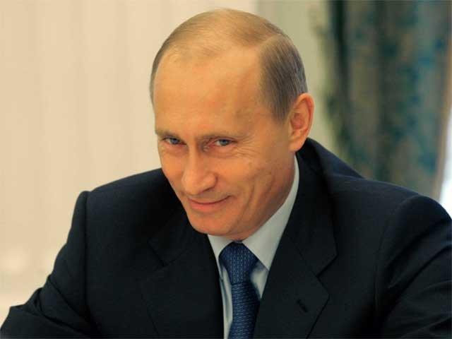 روسی صدر ولادی میر پیوٹن دنیا کی طاقتور ترین شخصیت قرار