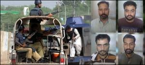 سی ٹی ڈی کی کراچی میں کارروائی، چار ٹارگٹ کلرز گرفتار