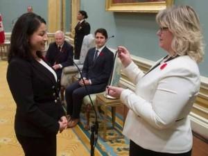 کینیڈا کی تاریخ میں پہلی مرتبہ مسلمان خاتون کابینہ میں شامل