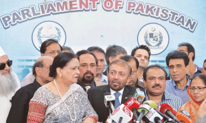 MQM to return to Senate today
