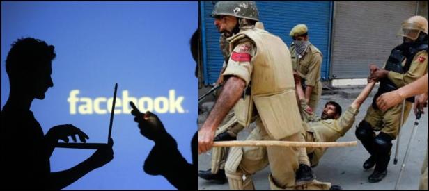 مقبو ضہ کشمیر میں بھارتی فوج کے ظلم کیخلاف آواز اٹھانے والوں کی پوسٹس ڈیلیٹ
