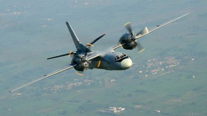 India military Antonov plane missing over Bay of Bengal