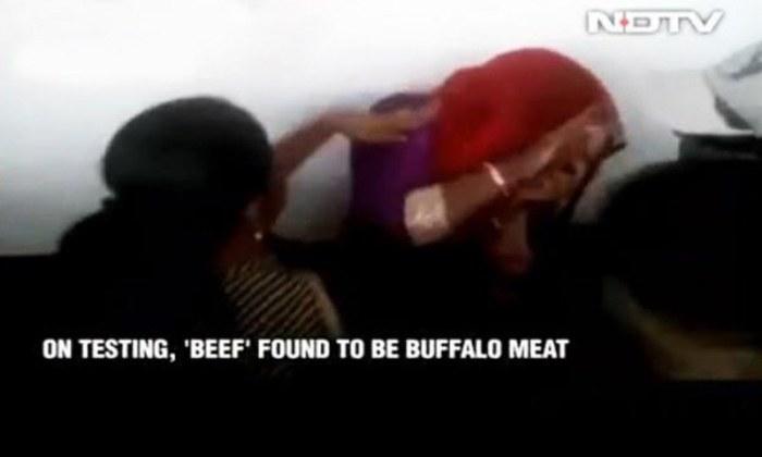 Muslim women beaten over rumours of carrying beef in India
