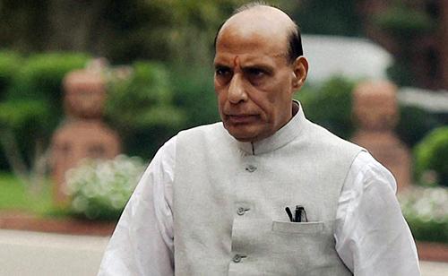 چودھری نثار کی دبنگ تقریر پر راج ناتھ سنگھ واپس چلے گئے